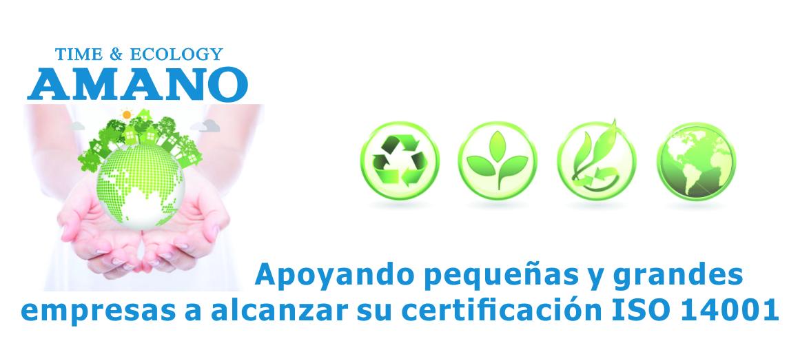 Apoyando a ISO 14000